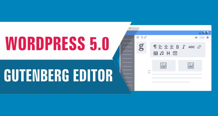 Guttenberg uitgesteld in update wordpress naar 4.9.5